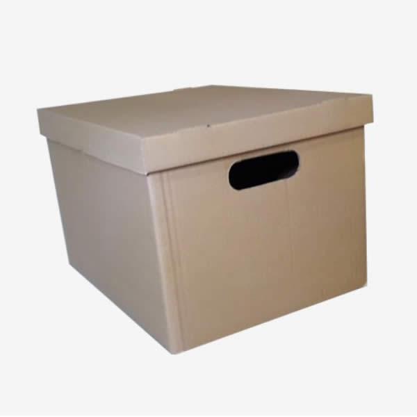 Corrugated Shoe Box - File Box